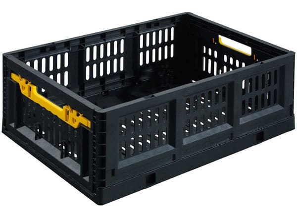 Stack-On Collapsible Stackable Folding Crate $15