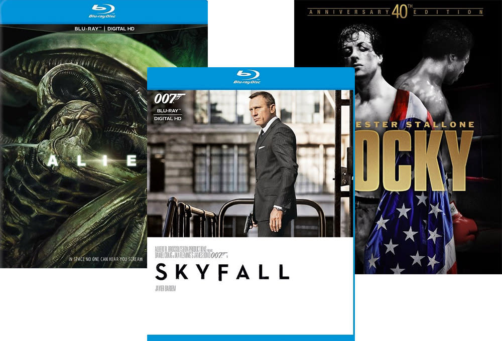 2 Blu-rays at Best Buy for $10
