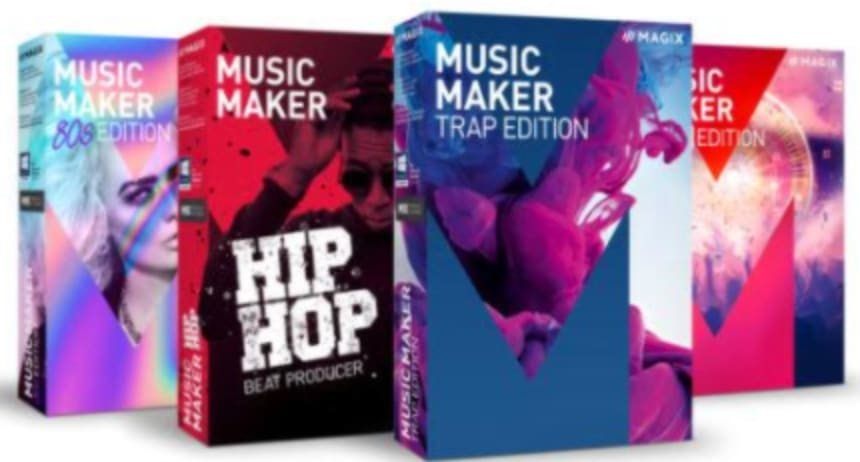 Magix Music Maker Special Edition for PC for $10