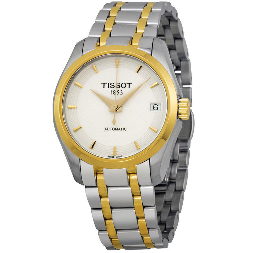Tissot Women's Couturier Automatic Watch for $340