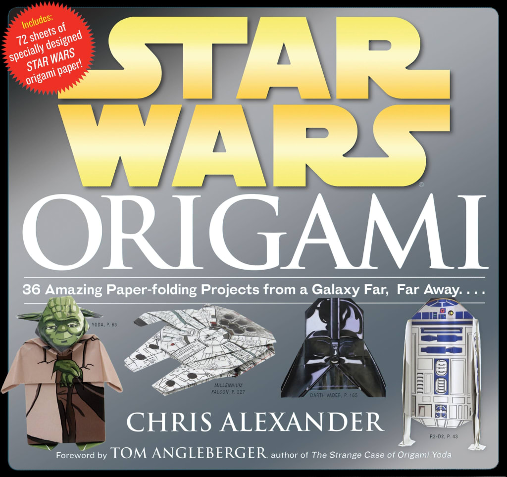 Star Wars Origami Paperback Book for $6