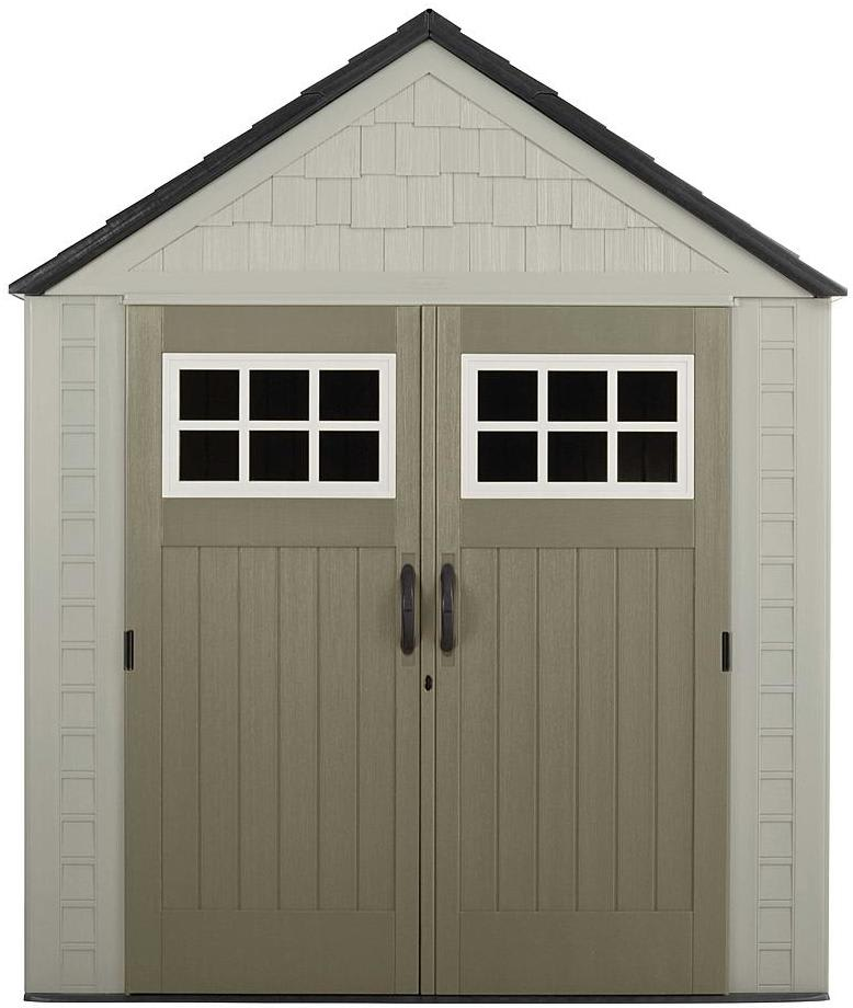 Rubbermaid 7x7ft Outdoor Resin Storage Shed $600
