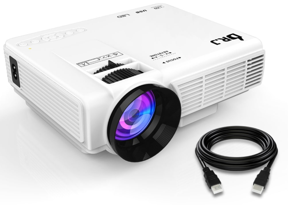 Dr. J 1,800-Lumen LCD Projector for $79