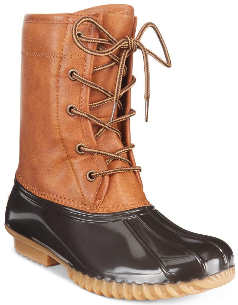 The Original Duck Women's Arianna Boots for $20