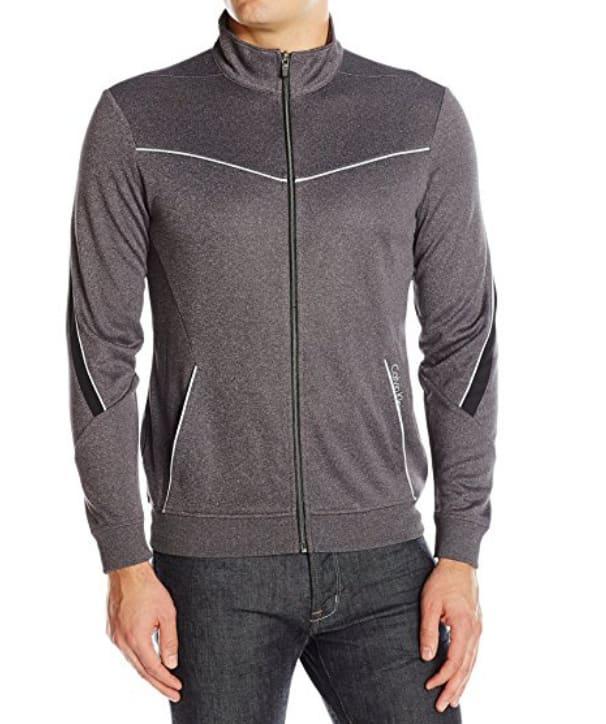 Calvin Klein Men's Elite Track Jacket for $19