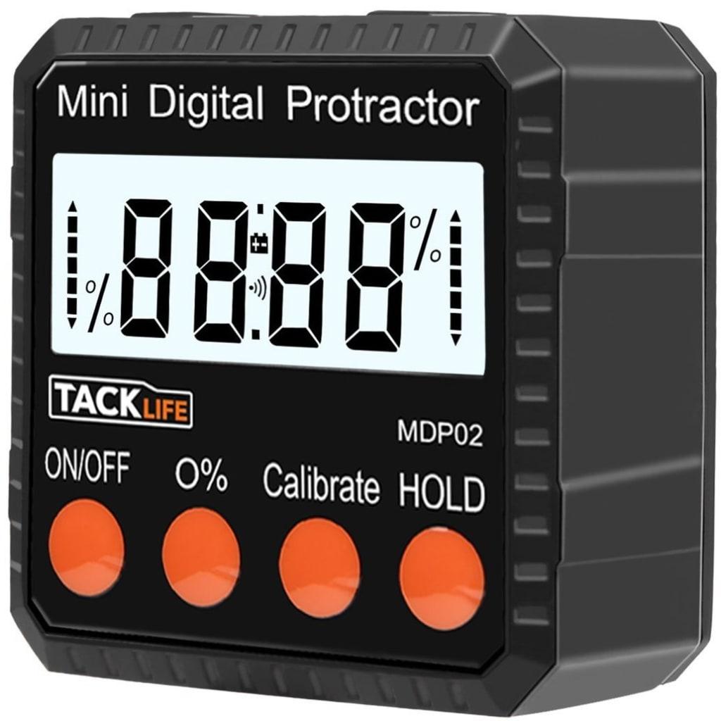 Tacklife Advanced Digital Protractor for $16