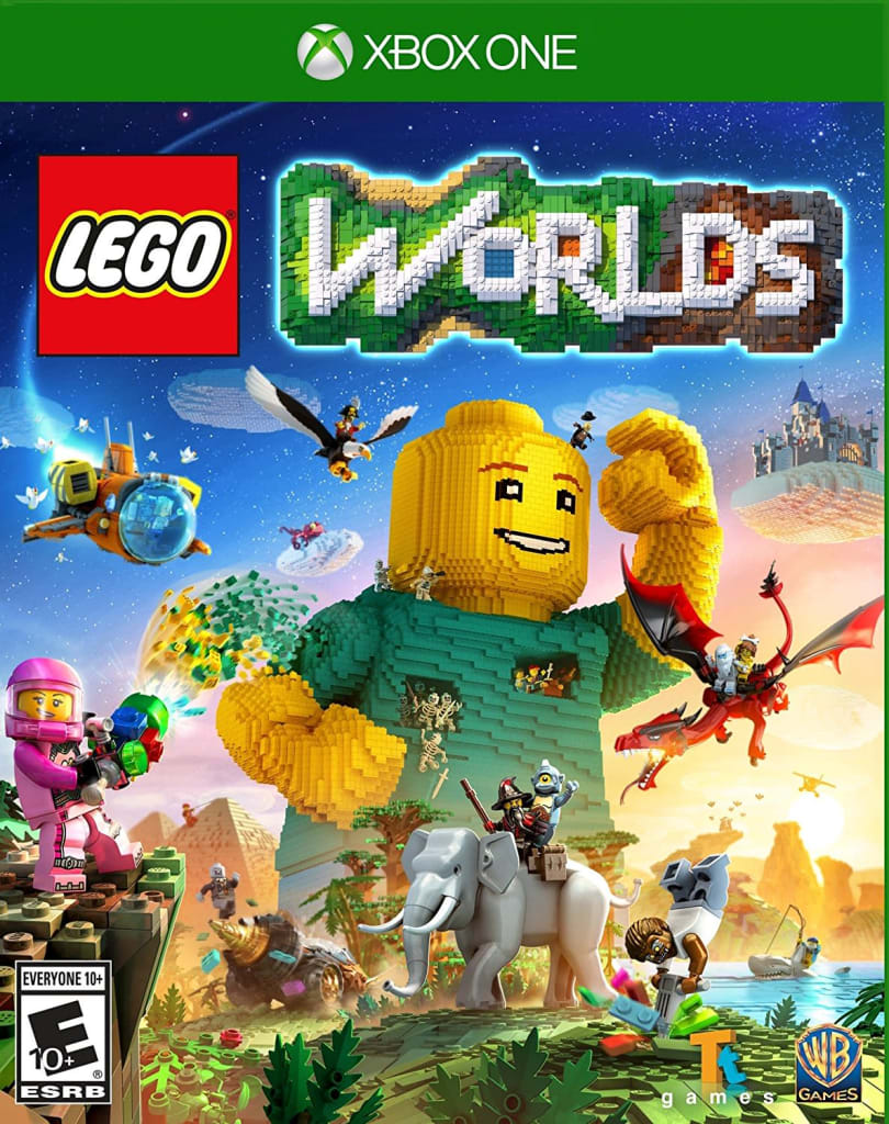 Used LEGO Worlds for Xbox One for $10