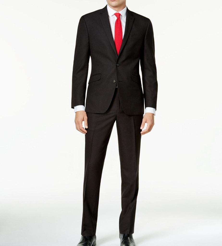 Kenneth Cole Reaction Men's Slim-Fit Suit for $100