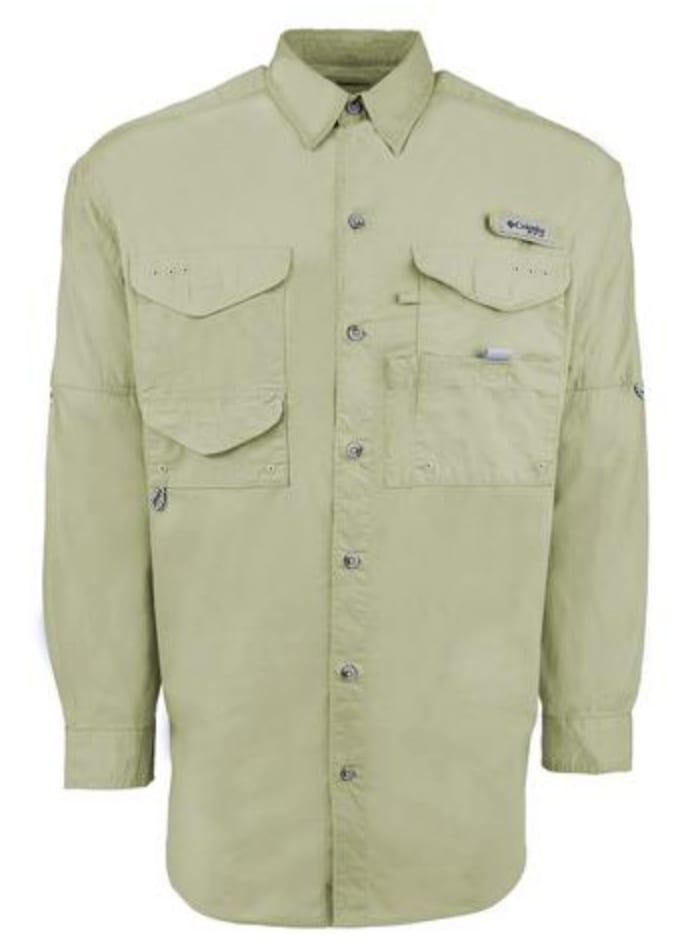 Columbia Men's PFG Bonehead Long Sleeve Shirt $22
