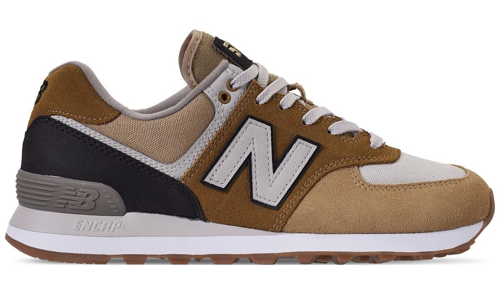 2fbd727e32be0 New Balance Men's 574 Military Patch for $55