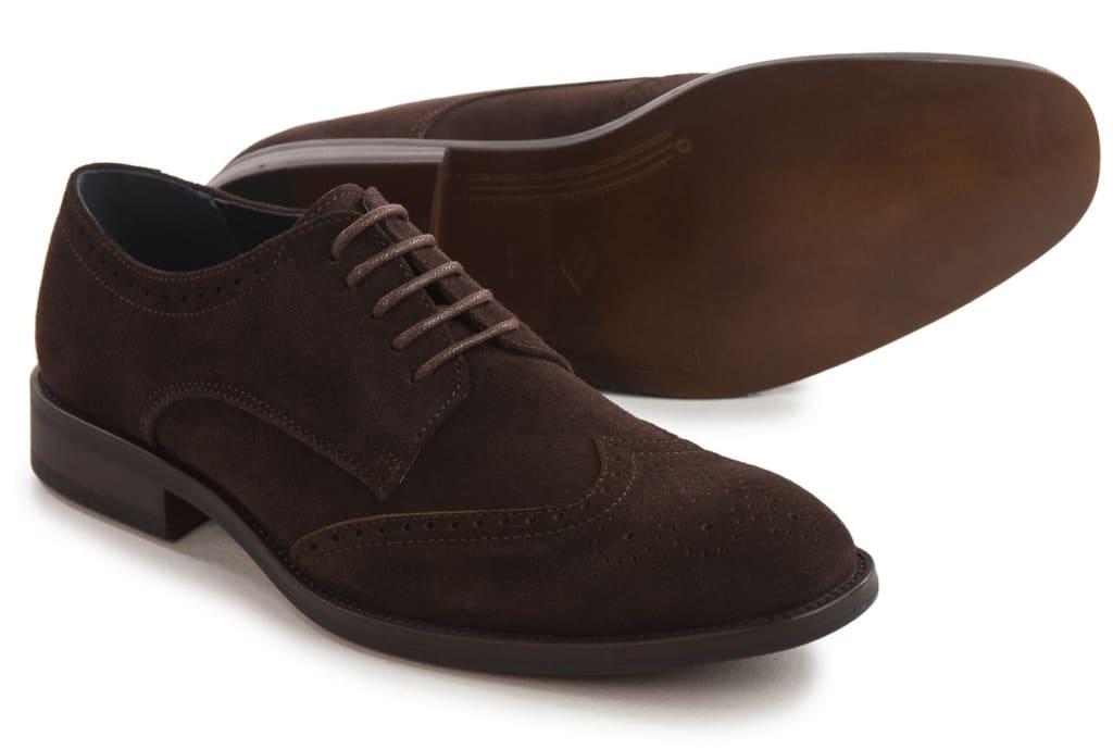 Joseph Abboud Men's Ralph Suede Oxford Shoes $22