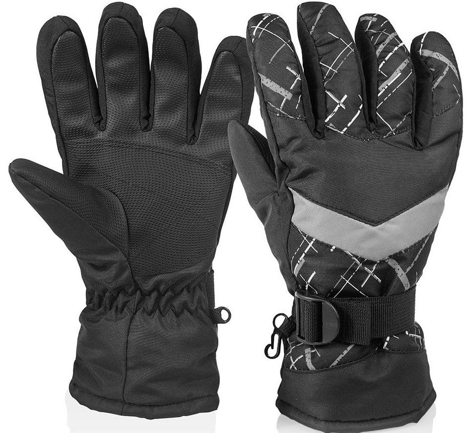 Huo Zao Unisex Winter Snow Ski Gloves for $6