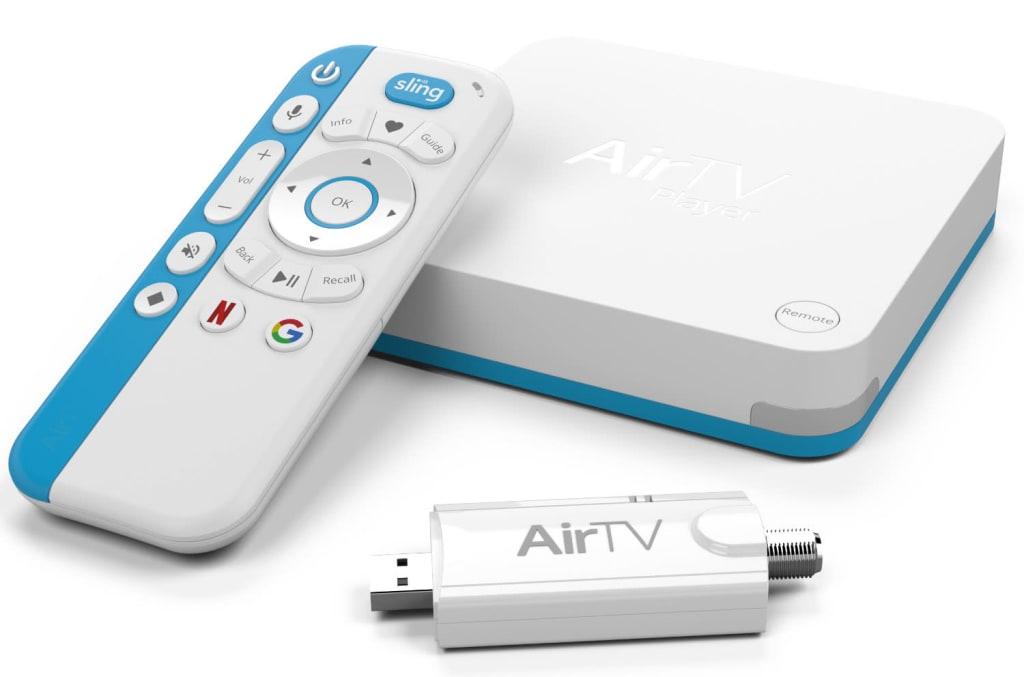 AirTV 4K Streaming Media Player w/ Adapter $100