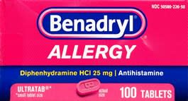 picture about Harmons Printable Coupons known as Benadryl Allergy Extremely 100-Ct. Pills at Harmon Experience Values: for $12