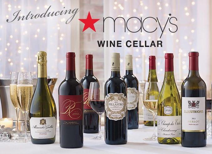 Macy's Wine Cellar: 15 Bottles of Wine for $90