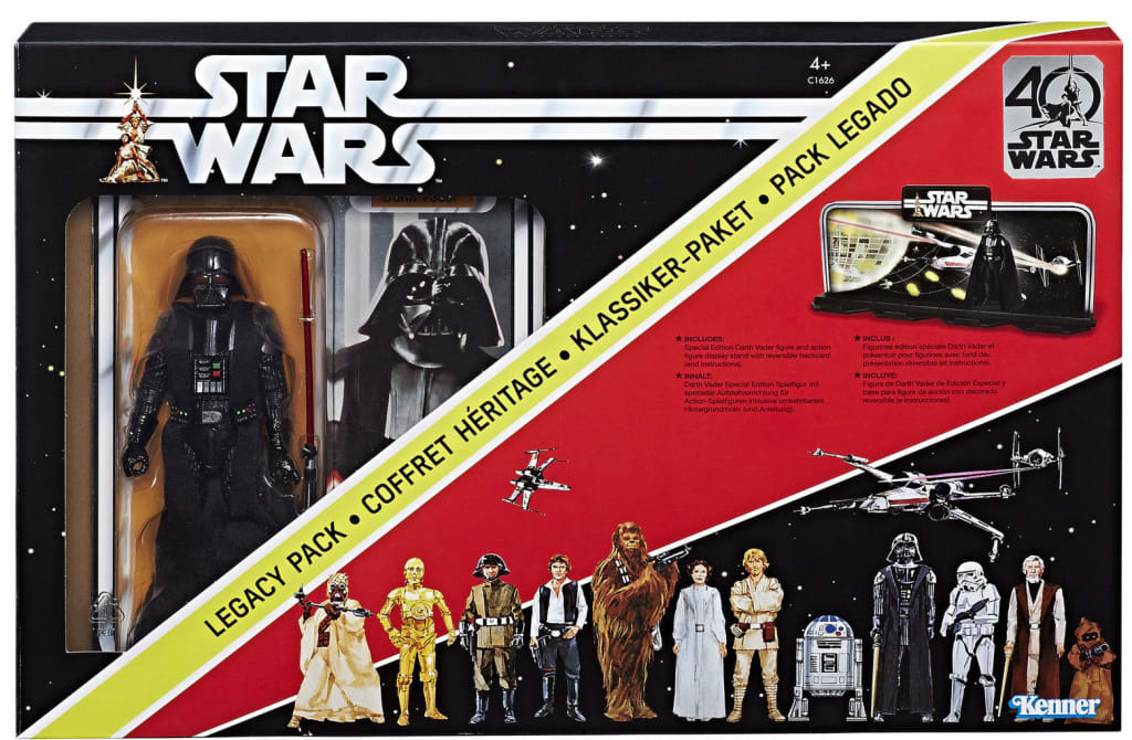 Star Wars 40th Anniversary Legacy Pack for $16