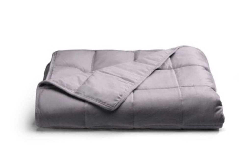 Tranquility 12-lb  Weighted Throw Blanket for $34