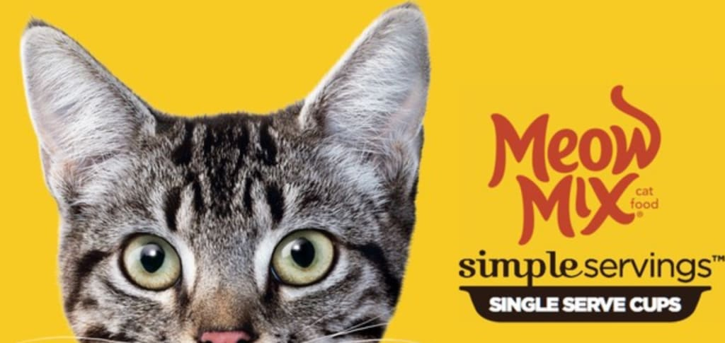 Meow Mix Simple Servings Cat Food Sample for free