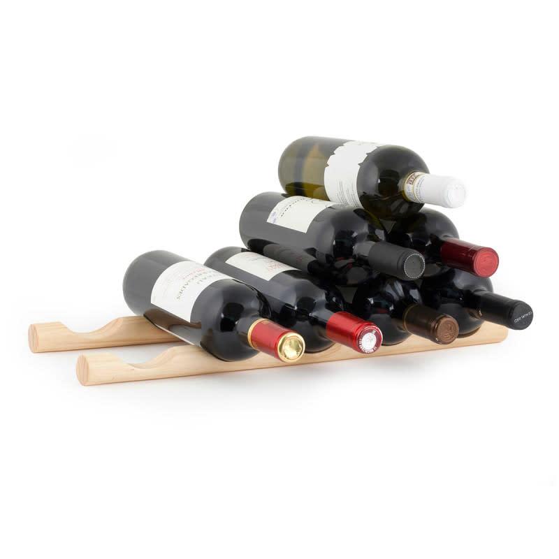 Kikkerland 5-Slot Wood Wine Stick 2-Pack for $12