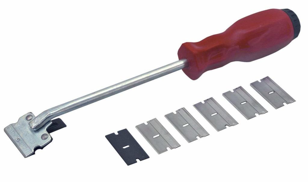 Lisle Razor Blade Scraper for $7