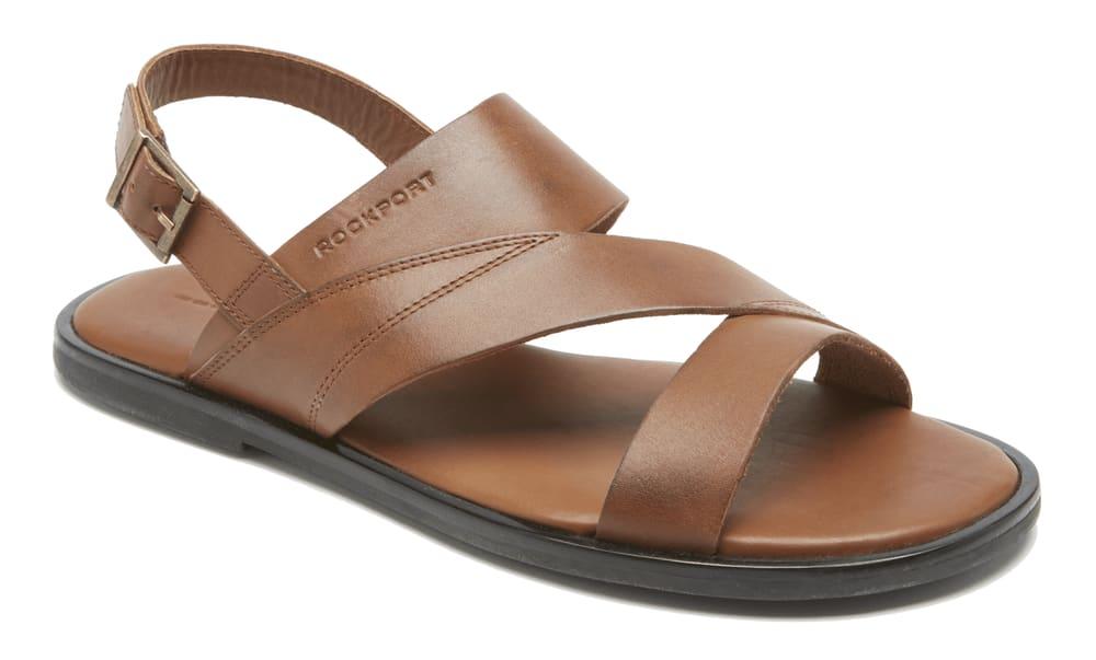 Rockport Men's Beach Back Strap Sandals for $22