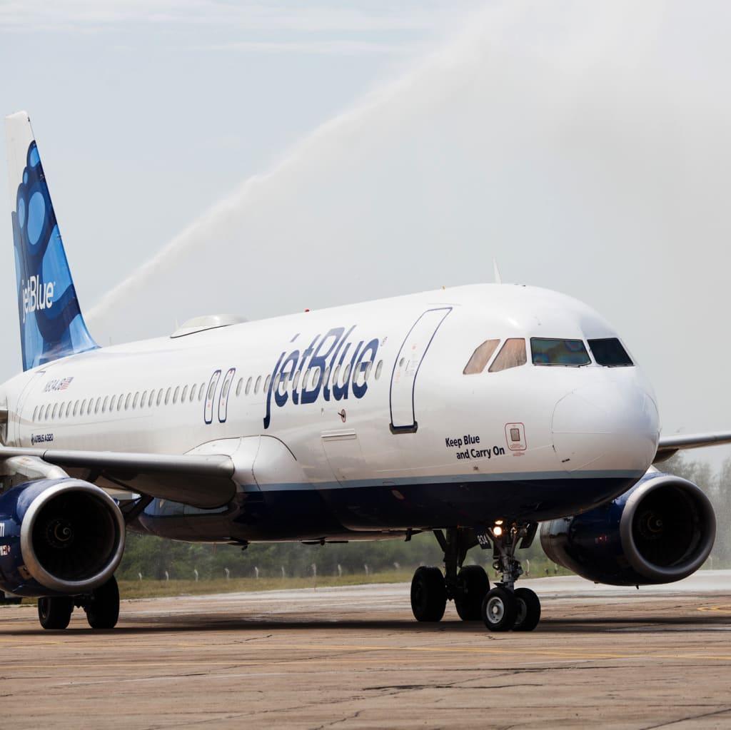Jetblue airways nationwide fares from 40 1 way fandeluxe Gallery