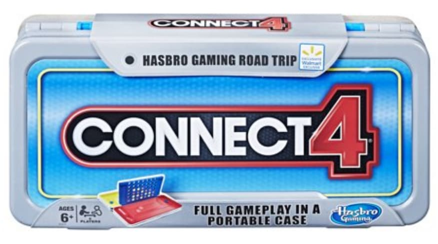 Hasbro Connect 4: Road Trip Series for $6