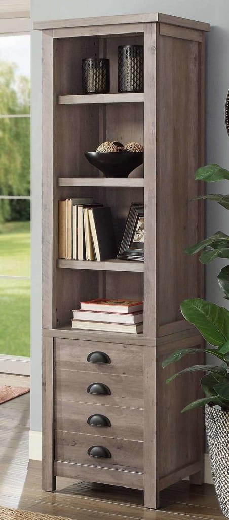 BH&G BHG Granary Modern Farmhouse Bookcase for $60