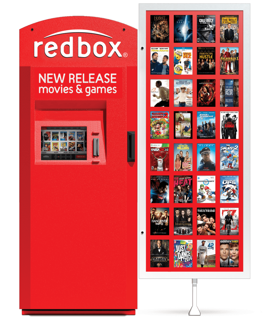 Redbox 1-Night Movie or Game Rental free