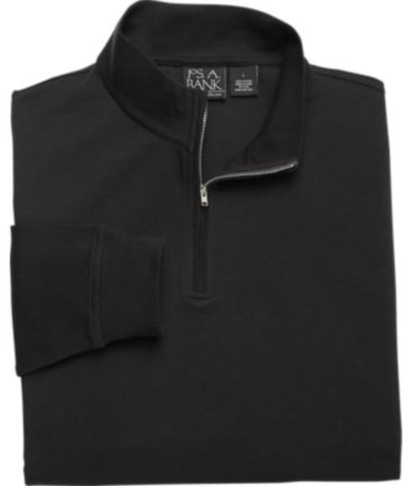 Jos. A. Bank Men's Traveler 1/4 Zip Sweater $12