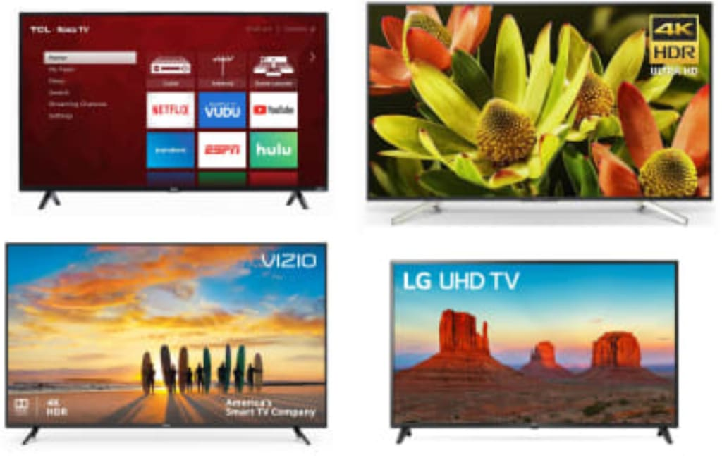 Clearance HDTVs at Walmart: from $95