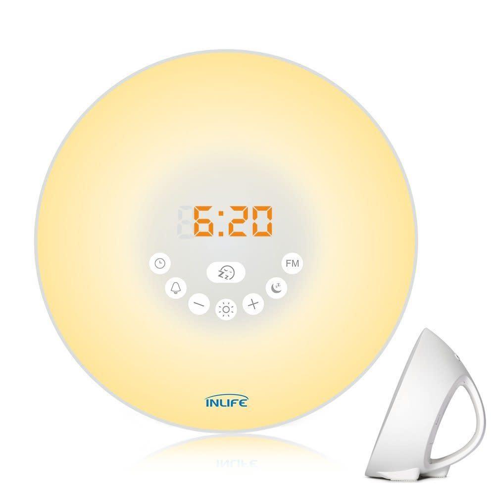 InLife Sunrise Alarm Clocks at Amazon from $18