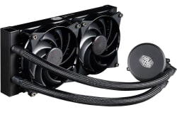 MasterLiquid 240 All-in-One CPU Liquid Cooler $65