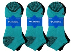 Columbia Women's No Show Socks 6-Pack for $15