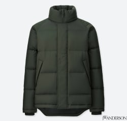 JW Anderson Men's Light Down Jacket for $40