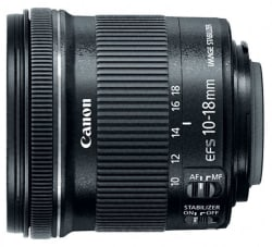 Refurb Canon 10-18mm Ultra-Wide Zoom Lens for $190