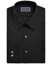 Club Room Men's Solid Dress Shirt for $10 + free shipping w/ $25
