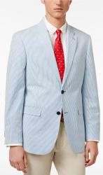 Tommy Hilfiger Men's Seersucker Sport Coat for $44
