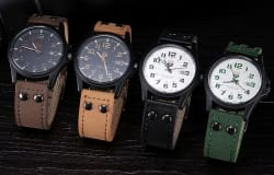 Men's Vintage Army Watch for $6