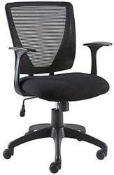 Staples Vexa Mesh Chair for $60