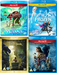 2 Disney 3D Movies on Blu-ray for $24
