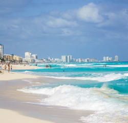 4Nt All-Incl Cancun Flight & Hotel: $1,287 for 2