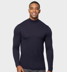 32 Degrees Men's Lightweight Baselayer Mock Top for $7 + free shipping