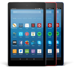 tablets for sale. 7th-gen amazon fire hd 8 16gb tablet 3-pack $130 tablets for sale