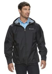 Columbia Men's Weather Drain Rain Jacket for $40