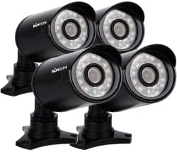 KKmoon 800TVL CCTV Outdoor Camera Set for $56