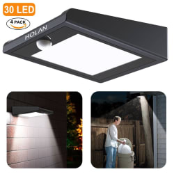 Mulcolor 30-LED Waterproof Solar Light 4-Pack $26