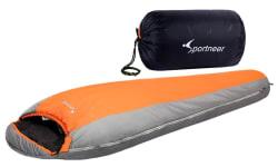 Sportneer +20F Ultralight Mummy Sleeping Bag $40