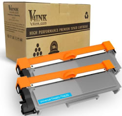 2 Toner Cartridges for Brother Printers for $14