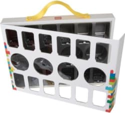 LEGO Iconic Minifigure Carry Case for $8
